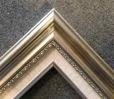 silver Liner Ornate Wood Picture custom Frame 1813SL