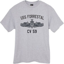 US Navy USS Forrestal CV-59 T-Shirt Aircraft Carrier
