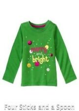 """""""NWT"""" Gymboree Merry & Bright Green Tops Skirt Pants Coordinates 4T, 5T, 6, 7"""
