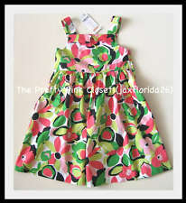 Gymboree Palm Beach Paradise Floral Print Dress New With Tags