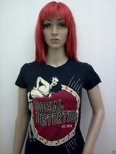 WOMENS SOCIAL DISTORTION T-SHIRT SM-XL NEW