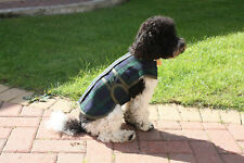 Tartan Fur Lined Dog Coat All Sizes, Made in Britain