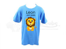 Personalised Childrens/Kids T-Shirt- Lion Design