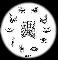 A Stamping Series Nail Art Image Stamp Template Plate 2