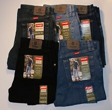 New Wrangler Five Star Regular Fit Jeans Men's Sizes Five Colors Free Shipping