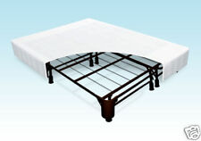 Better than a Box Spring - combo bed frame & foundation & coverlet. Sturdy, EZ
