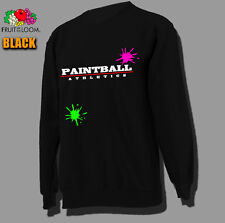 Top Sweatshirt Paintball Athletics Gotcha Paintballplayer Cult Sport Gun Airsoft