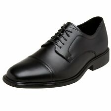Neil M Senator Men's Genuine Leather Dress Shoes Black NM121318 All Sizes
