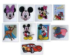 Dumbo Bambi Mickey Minnie Cars Mcqueen Mario Bros Iron on Patch Party Favor Gift