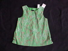 NWT GYMBOREE PALM BEACH PARADISE FLAMINGO GREEN PALM TREE TANK TOP SHIRT