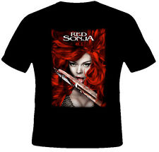 Red Sonja Action barbarian comic con poster T Shirt