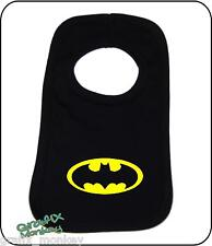 "Pullover Baby Bib ""BAT BABY"" design... 180 colour combinations...BAT MAN Bib"