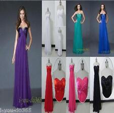Cheap Sexy  Bridesmaid Prom Formal Party Evening Gown Stock Size 6 8 10 12 14 16