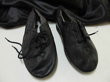 BLOCH Enduro- Tech Jazz Dance Shoes Leather  Black Size 5,  New