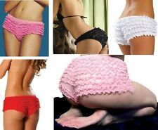 New Sexy women Frilly ruffle lace knickers hot pants boy shorts underwear 5color