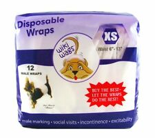 Dog Diapers/Belly Bands Disposable for Male Dogs by Wiki Wags