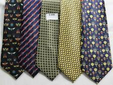 MENS NEW TIES HAND MADE 100% POL .PRICE FOR   5 TIES -T 046