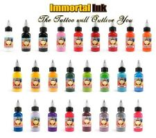 Immortal Tattoo Ink - 30ml (1oz) - Choose from over 25 Vibrant Colours
