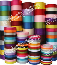 25 Yards Various Sizes Colors Satin Ribbon Wedding Party Decoration Sewing Craft