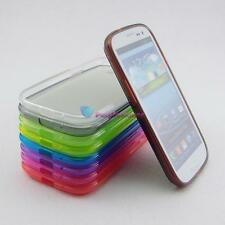 Hybird TPU Silicone Gel soft Clear Case Cover for Samsung Galaxy S3 SIII i9300