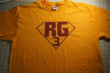 Robert Griffin III RG3 Washington Redskins Yellow T Shirt Tee BRAND NEW