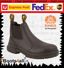 New Oliver Kings Work Boots Safety/Steel Toe Cap Black Pull On Sale 15480 Value!
