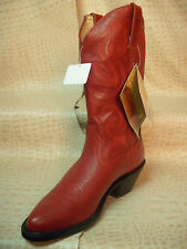 New Womens Durango Cowgirl Leather Ladies Fashion Western Cowboy Red Boots