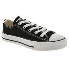 CONVERSE CHUCK TAYLOR BLACK/WHITE LOW TOP CANVAS FOR KIDS NEW IN BOX ALL SIZES