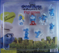 YOU PICK 1 OF 7 MINI SMURFS FIGURES KEYCHAIN ZIPPER BACKPACK PULLS 2011 3D MOVIE