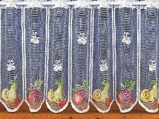 CAFE NET CURTAIN - MIXED FRUIT  - 3970