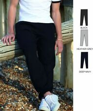 ELASTICATED JOG PANTS TROUSERS JOGGERS JOGGING (SS31M) - 3 COLOURS