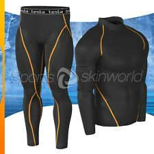 New Mens Compression Under Base Layer Gear Shorts Wear Shirt & Pant T01P06BO