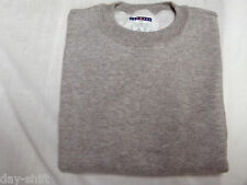 BOYS SHIRTS~CREW SWEAT SHIRTS~JERZEES~ASSORTED SIZES~YOUTH~GRAY~FREE SHIPPING~