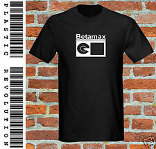 BETAMAX - T-SHIRT - All SIZES + COLOURS (Video tape 1980 1970 VHS Retro Funny)