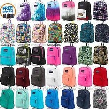 Jansport Backpack 100% Authentic New with tags ,Black,Grey,Blue,Pink,Purple,Red-