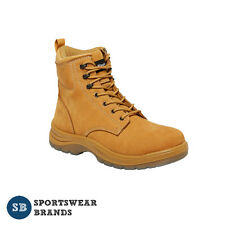 King Gee Cook Nubuck Work Boot Steel Toe Cap Safety Leather Workwear Lace K27750