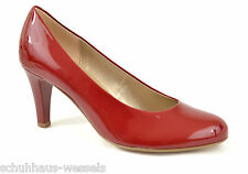 Gabor Pumps rot Lack  cherry  High Heels 70mm  NEU 25.210.75 NEU