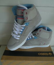 Osiris Shoes NYC 83  VLC -  Lifestyle High Top Skate  -  Grey Mex RR-Miles