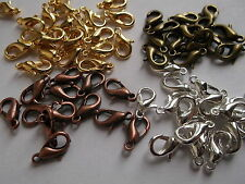 25 to 100 Lobster Parrot Connectors Clasps Jewellery Claws -Buy 3 Get 1 FREE