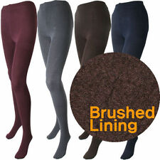Thermal Fleece Lined Tights by Silky 200 Den Appearanc S,M,L,XL Assorted Colours