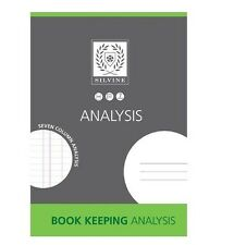 SILVINE BOOK KEEPING ANALYSIS SEVEN COLUMN ANALYSIS A4 SIZE