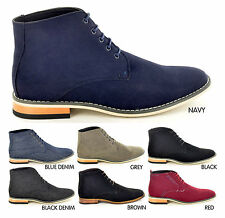 New Mens  Desert Ankle Chelsea  Formal / Casual Boots Shoes In UK Sizes 6-12