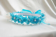 BRAND NEW HEADPIECE TO MATCH FLOWER GIRL DRESS ALL COLOR AVAILABLE