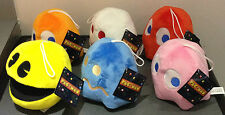 "NAMCO PAC MAN OFFICIAL 6"" GENUINE UK LICENSED PLUSH SOFT TOY GIFT"