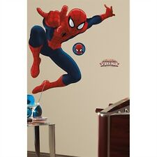 Spiderman - Ultimate Spiderman Peel & Stick Giant Removable Wall Decals Stickers
