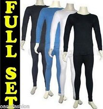 MENS THERMAL LONG JOHNS UNDERWEAR LONG SLEEVE TOP TSHIRT SET