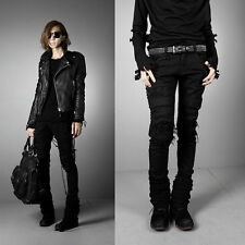 BYTHER Men's Damage Dark Coatting Skinny Jeans Gangnam STYLE P0000JZL