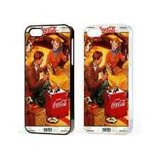 Coke Coca Cola Classic Case Cover For Iphone 4 4s 5 5s 5C 6 Plus iPod Touch 5th