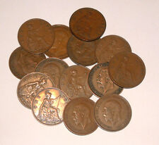 Great Britain/UK 1911 - 1936 - George V Bronze Pennies - Select the Date