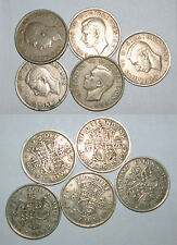 Great Britain/UK 1947 - 1951 - George VI Cupro-Nickel Halfcrown - Select by Date